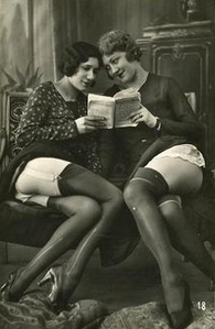 book and reading fetish girls